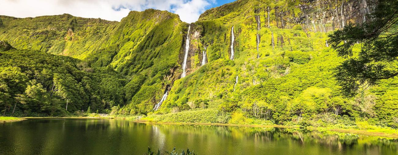 Waterfalls, Azores