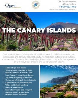 Canary Islands brochure