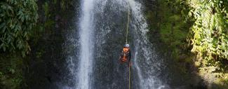 Canyoning & Rappelling in the Azores
