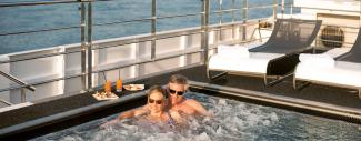 Couple on Sun Deck