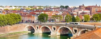 Toulouse and Pont Neuf bridge